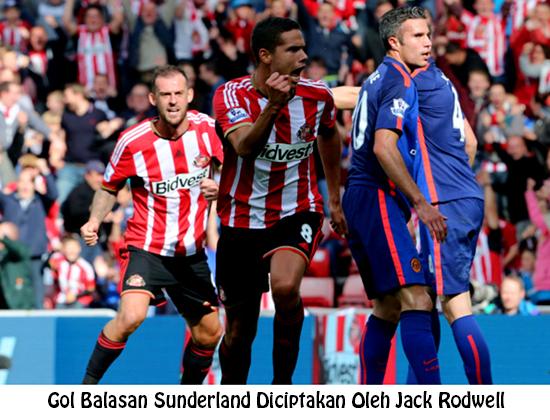 Gol Balasan Sunderland lewat Jack Rodwell
